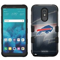 for LG Stylo 4 Armor Impact Hybrid Cover Case Buffalo Bills #BG