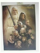 Lord of the Rings Poster LOTR Two Towers Commercial