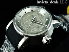 Invicta Men S1 Yakuza Dragon Automatic NH35A Silver Dial Black & Red SS Watch