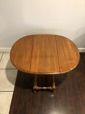 Ethan Allen Circa 1776 Butterfly Drop Leaf Table Maple #18-8004