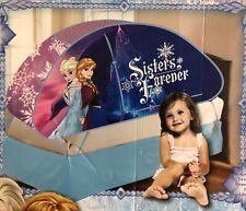 Disney Frozen Twin Bed Tent Sisters Forever Elsa Anna Indoor Play Enclosure