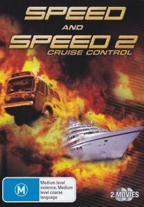 SPEED and SPEED 2 starring Sandra Bullock (2-disc DVD set, 2010)