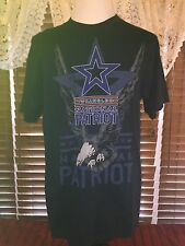 Men s Wrangler L Large Blue National Patriot LS T-shirt ecacd7ab31d