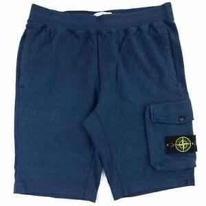 Stone Island 65860 Garment Dyed Shorts Navy V0028