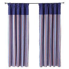 Children's Striped Curtains