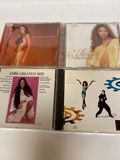 Lot Of 4 Pop Cds Cher Greatest Hits Toni Braxton C C Music Factory Great Value