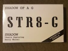 STR8 - G Shadow Of A G *Cassette tape single Barry White Remix PROMO