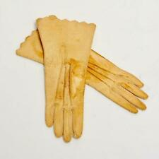 Antique Perrin Paris Kid Leather Doll Gloves