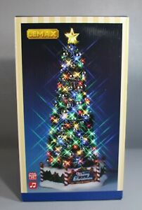 NEW Lemax MAJESTIC CHRISTMAS TREE Animated Sights & Sounds Holiday Village