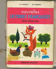 Nouvelles Lectures Françaises  * CP * 1963 1978 * NATHAN livre scolaire ancien