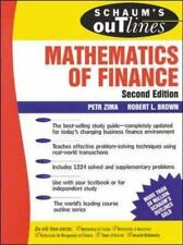 Schaum's Outline of  Mathematics of Finance: By Zima, Petr, Brown, Robert