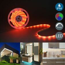 LED Stripe RGB Band Streifen IP44 Bad Licht-Leiste Draußen Farbwechsel B.K.Licht