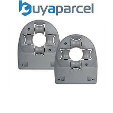 Wall Mounted Universal Hose Reel Guide Bracket Hozelock Compatible Twin Pack