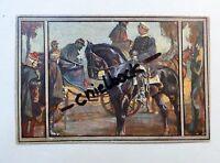 AK Farb-Litho - Soldat auf Pferd - 1. WK - von 1915 - (R04
