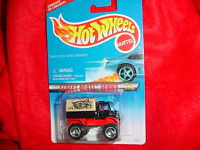 HOT WHEELS #557 MERCEDES-BENZ UNIMOG TRI-BLADE RIMS STREET BEAST FREE USA SHIP