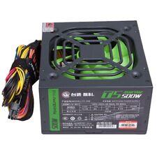 TAISU Max 500W Power Supply LED Fan 6 Pin PCI SATA ATX 12V PC Computer Powe M4T3