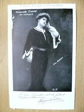 Postcards of Edwardian Theatre & Opera Stars: MARGUERITE CARRE by Vin Desiles