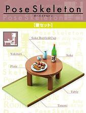 New Pose skeleton  accessories Japanese tatami table set Japanese-style room F/S
