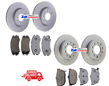 FOR HYUNDAI COUPE 2002-2010 1.6 2.0 2.7 FRONT AND REAR BRAKE DISCS AND PADS SET