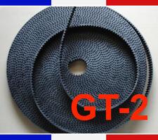 Courroie GT2 au mètre - largeur 6mm - pas 2mm pour imprimante 3D Reprap CNC belt