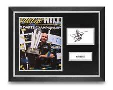 Rob Cross Signed 16x12 Framed Photo Display PDC Darts Autograph Memorabilia +COA