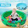 90cm Piscine Bébé Enfant Gonflable Boule Balle Pneumatique Jeux Jouet   A +A
