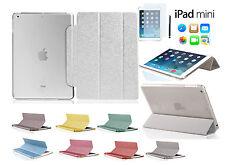 iPad Mini / 2 Retina / 3 Schutz Hülle Bling Strass Smart Cover Case Tasche Folie