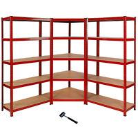 Estándar 4125kg estante grandes Rack de almacenamiento de Bricolaje Garaje