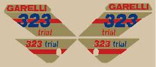 GARELLI 323 TRIAL SERIE ADESIVI STICKERS