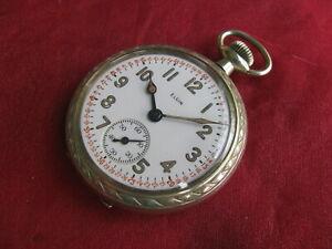 Elgin Vintage 17-jewel 16-size US Military Pocket Watch