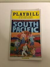 South Pacific Playbill FEBUARY 2009 Lincoln Center/Vivían Beaumont With Tickets