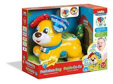 Clementoni Baby Toddler Toy Activity Educational Peekaboo Walking Dog