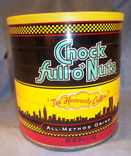 Chock Full o Nuts Coffee New York City WTC 9/11 Twin Towers Advertising Tin Can