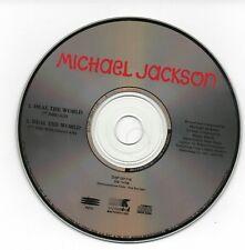 MICHAEL JACKSON PROMO CD USA HEAL THE WORLD