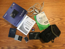 Canon Powershot S100 Digital Camera, Extra Battery, 4GB card, User Guide, Case