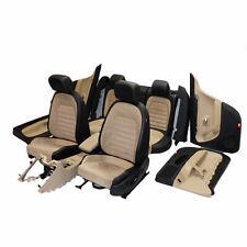 VW CC 358 12-16 Sitzausstattung Ledersitze Sitze Leder Alcantara schwarz beige