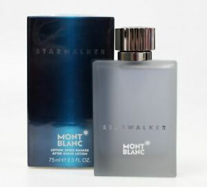 Mont Blanc Aftershave Starwalker Lotion Spray For Men 75ml **Brand New**