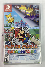 Paper Mario: The Origami King -- Nintendo Switch, 2020 [BRAND NEW] Fast Ship!