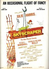 "Julie Harris ""SKYSCRAPER"" Sammy Cahn / James Van Heusen '65 Broadway Sheet Music"