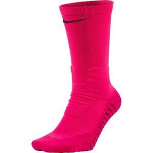 NIKE Dri-Fit Vapor Cushioned Football Crew Socks Men (8-12) Women (10-13) Pink