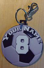 Soccer Custom Ball Shape Bag Tag/Christmas Ornament - Favorite Player