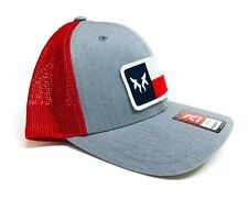 Bull Shadow Cap, Texas Flag Patch, Mesh Flexfit Back, Small/Medium