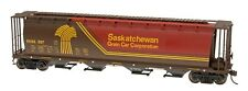 4-Bay Cylindrical Hopper w/Hatches - Saskatchewan SKNX #397226 - IMRC #45121-57