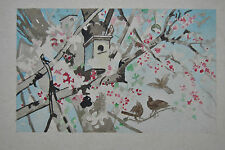 Künstlerische Malereien von 1900-1949 im Expressionismus-Büttenpapier