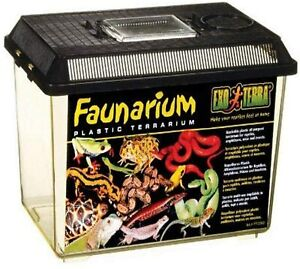 EXO TERRA PT2260 STANDARD FAUNARIUM MEDIUM - NEW BUT DAMAGED ON DELIVERY #1