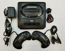 Sega Genesis Console Gen 2 System - ORIGINAL AUTHENTIC CONTROLLERS - TESTED