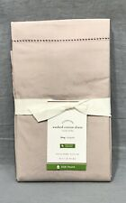 Pottery Barn Orchid Washed Cotton Organic King Sham