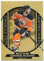 "2020-21 Upper Deck UD Tim Hortons Hockey Gold Etchings ""You Pick from list"""