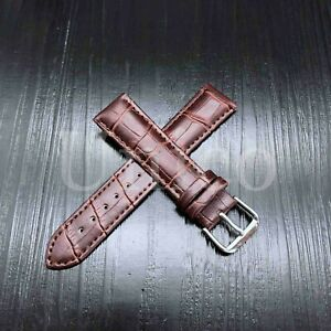 12 - 22 MM Watch Band Strap Genuine Leather Alligator Crocodile Fit For MVMT USA