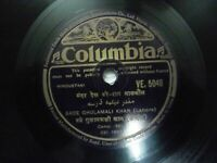 BADE GHULAM ALI KHAN LAHORE HINDUSTANI CLASSICAL VE 5048 RARE 78 RPM RECORD EX